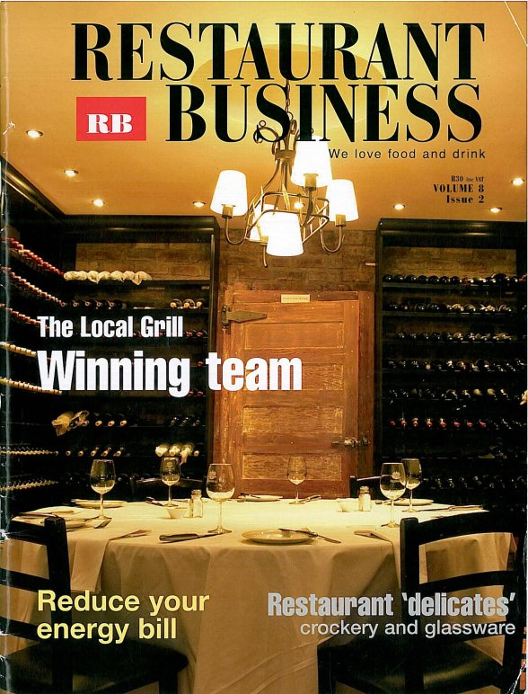 Restaurant and Business - Local grill articel pg1